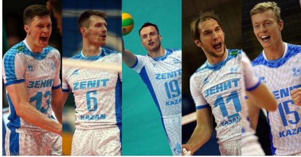 Five Players Leave While Mikhaylov And Gutsalyuk Stay In Zenit Kazan Next Season Instavolley Com