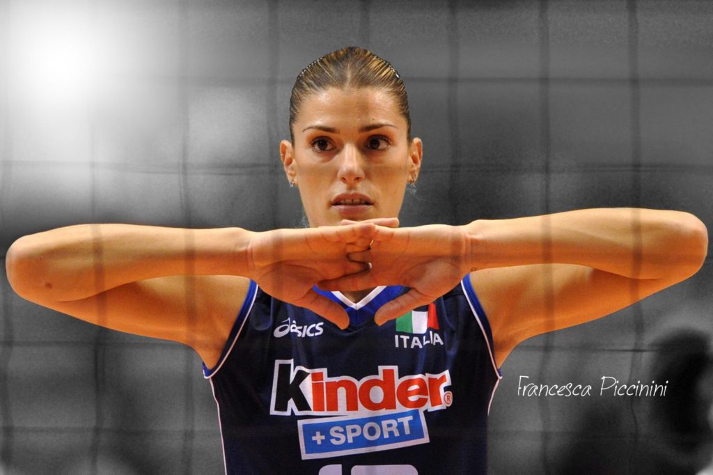 Volleyball player francesca piccinini really. All